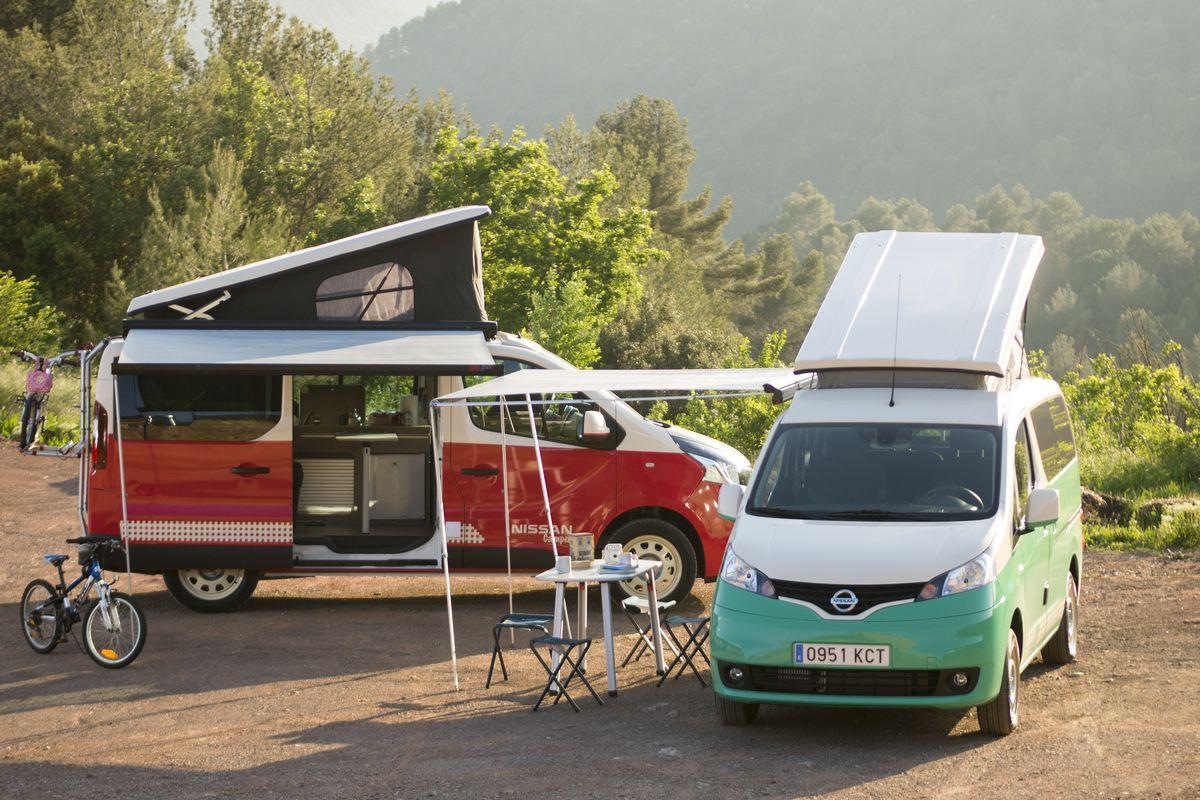 Pop top camper van by Nissan is fully electric - Curbed