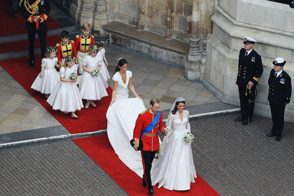 a3cdd8761b98 Alexander McQueen 'Utterly Baffled' by Lawsuit Over Kate Middleton's  Wedding Dress
