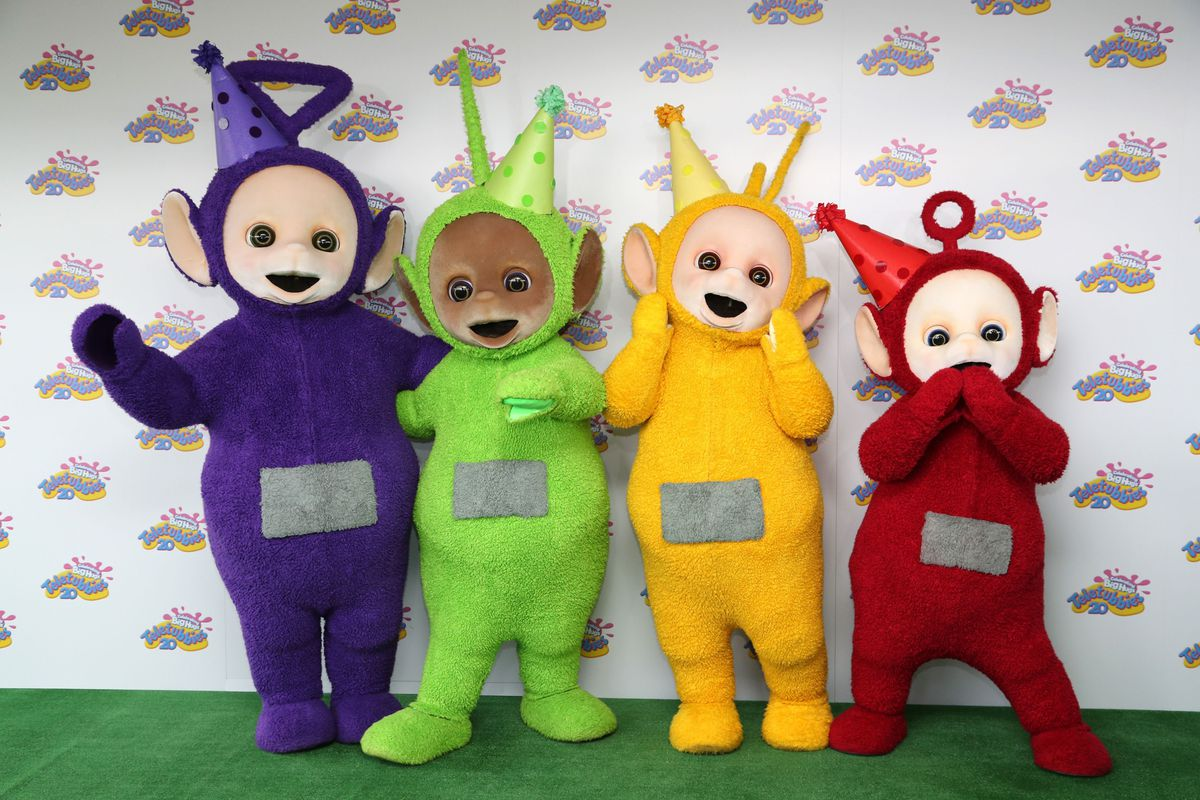 Teletubbies 20th anniversary party - London