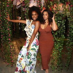 Kelly Rowland and Dascha Polanco at 29Rooms Chicago. | Robin Marchant/Getty Images