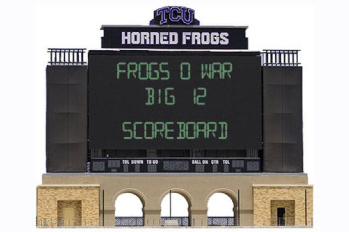Big 12 Scoreboard woo