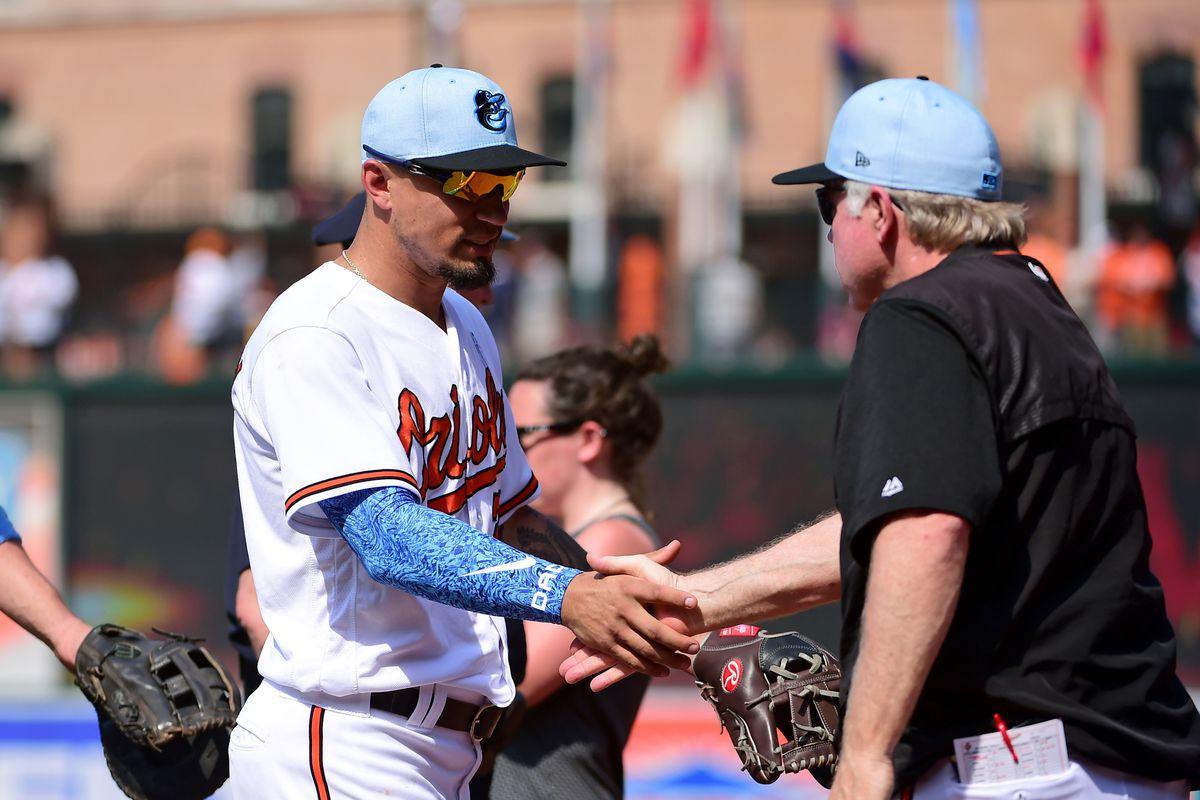 MLB: Miami Marlins at Baltimore Orioles