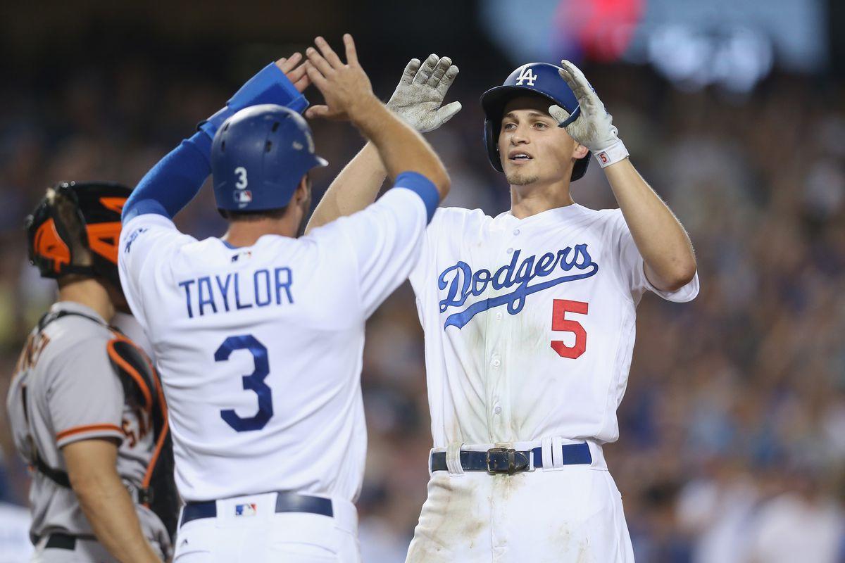 San Francisco v Los Angeles Dodgers