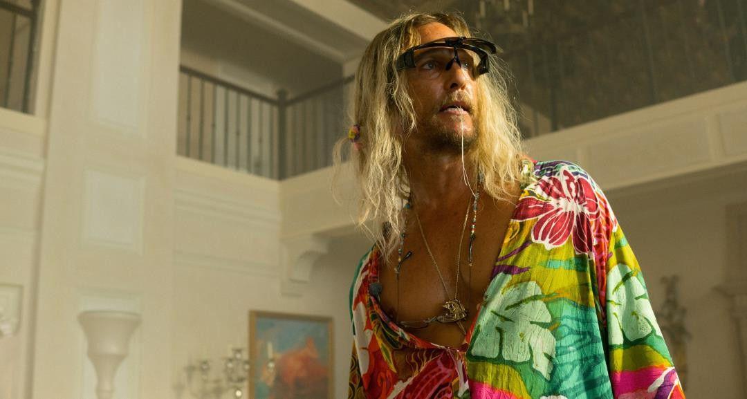 Matthew McConaughey as Moondog in The Beach Bum.