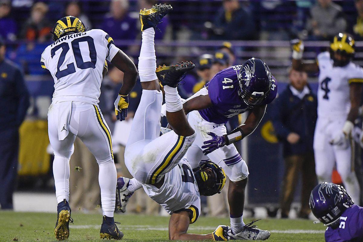 NCAA Football: Michigan at Northwestern