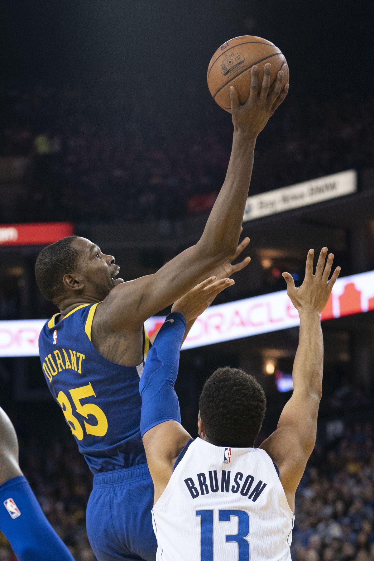 NBA: Dallas Mavericks at Golden State Warriors