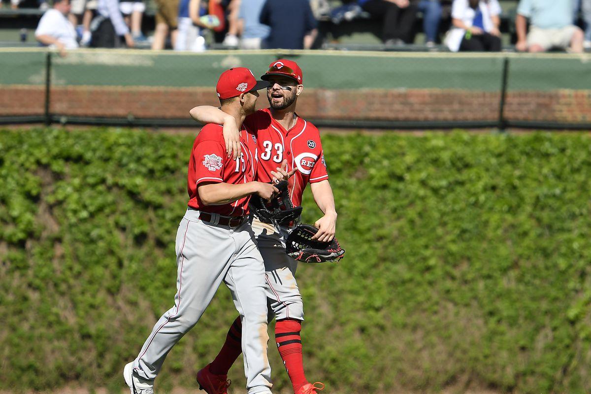 Cincinnati Reds v Chicago Cubs