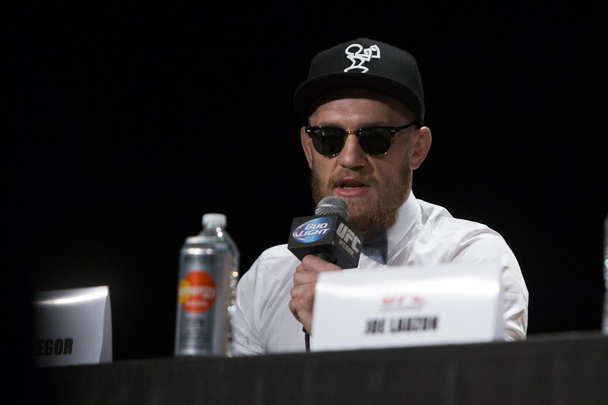 Conor McGregor fights in the UFC Fight Night 46 main event Saturday  night.