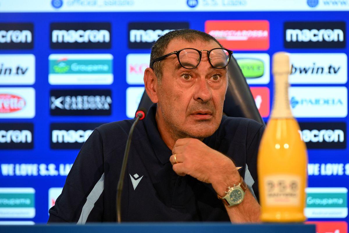 SS Lazio Press Conference