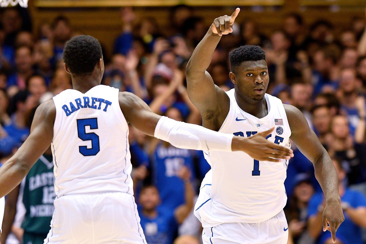 5beaa01c0cf Ridiculous Upside s 2019 NBA Mock Draft  RJ Barrett Still No. 1 ...