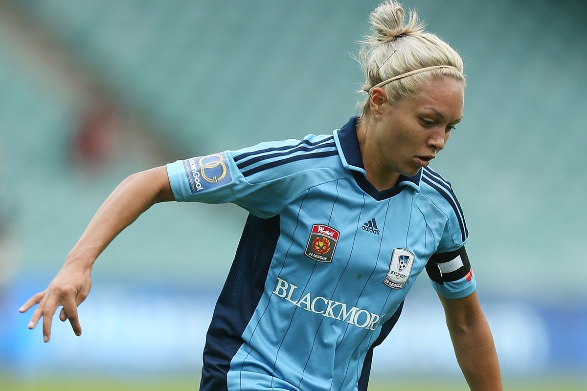 Simon played for W-League side Sydney FC from 2009-2013