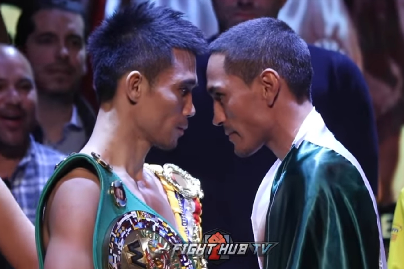 Screen Shot 2019 04 25 at 7.01.08 PM  2 .0 - Srisaket, Estrada stare at each other at weigh-in