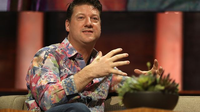 Gearbox Software co-founder and chief executive Randy Pitchford at E3 2017.