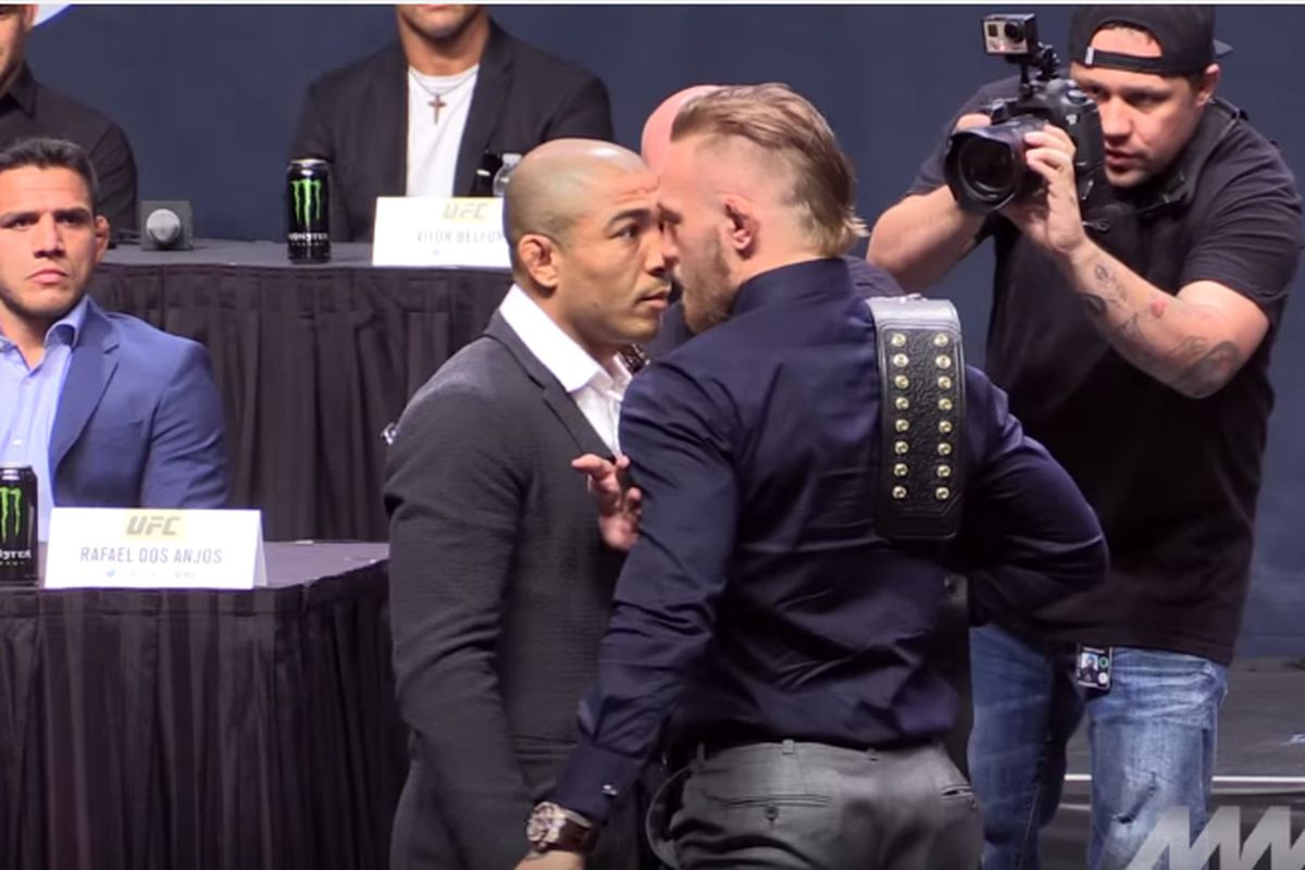 Conor Mcgregor Vs Aldo Press Conference