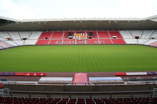 The newly refurbished East Stand after just two seat phases.