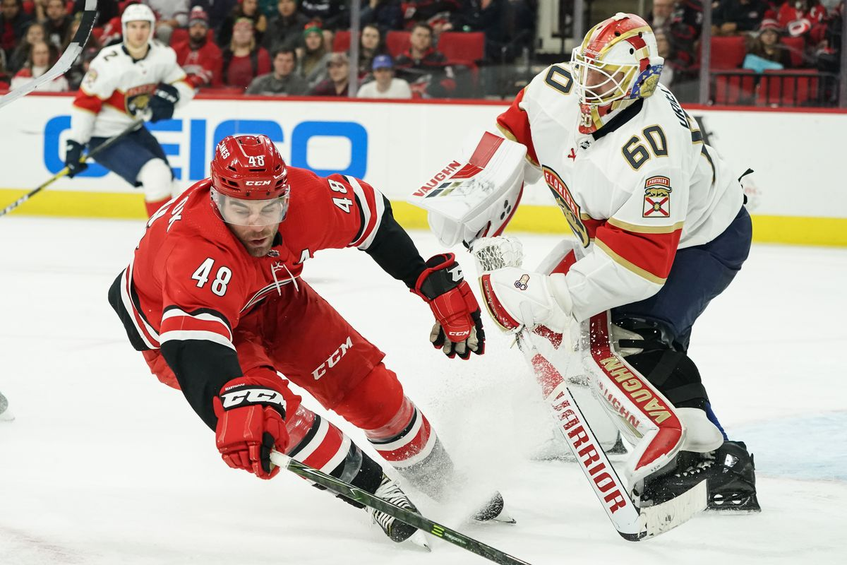 NHL: DEC 21 Panthers at Hurricanes