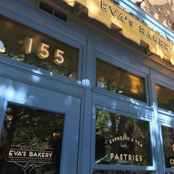 Eva's Bakery is on Main Street, between 100 South and 200 South.