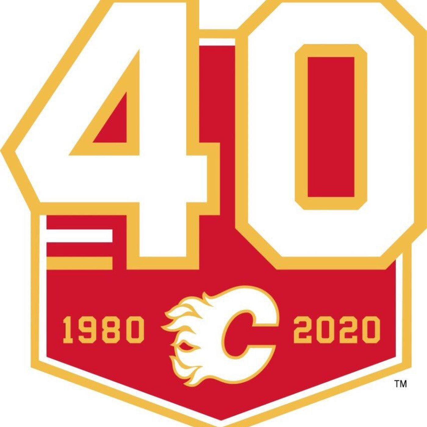 Calgary Flames Reveal Anniversary Logo Matchsticks And Gasoline