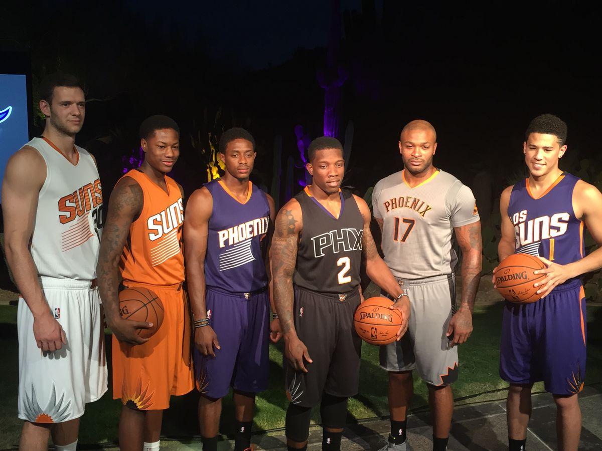 Gallery: More black and purple, less orange mark Phoenix Suns uniform and court updates