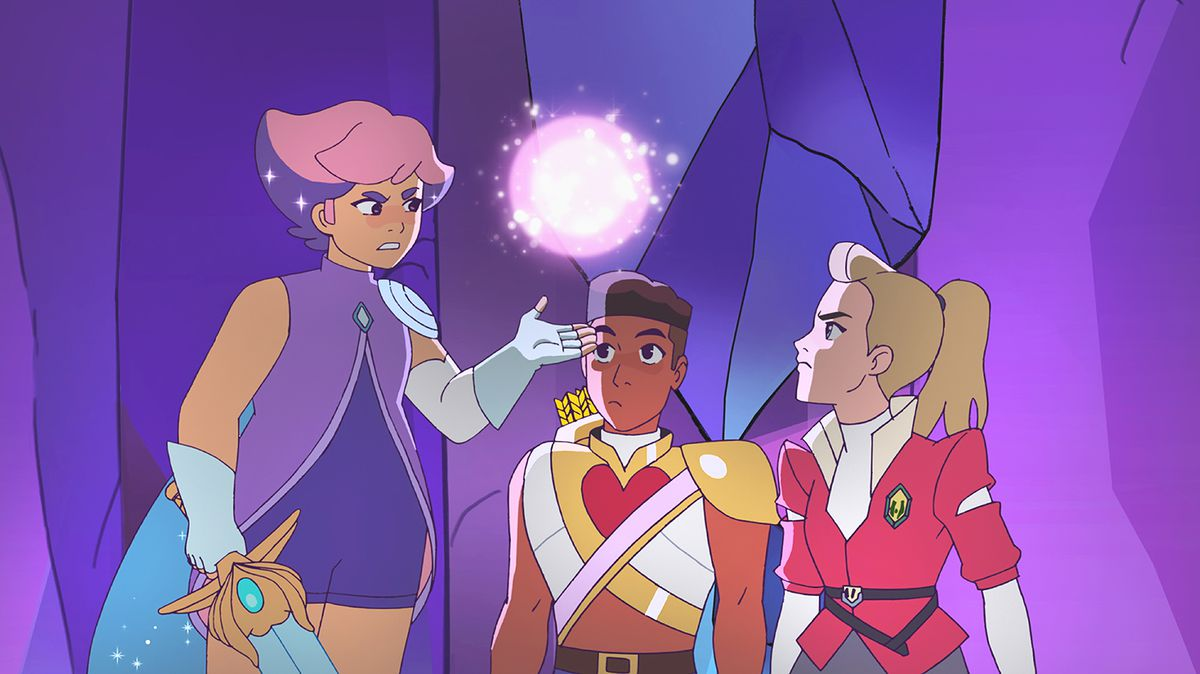 She-Ra and the Princesses of Power - Glimmer, Bow and Adora