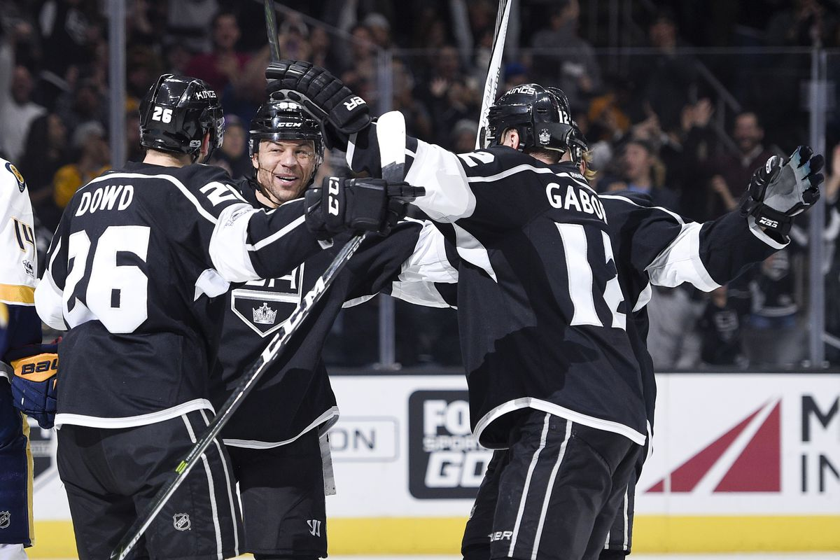 NHL: Nashville Predators at Los Angeles Kings