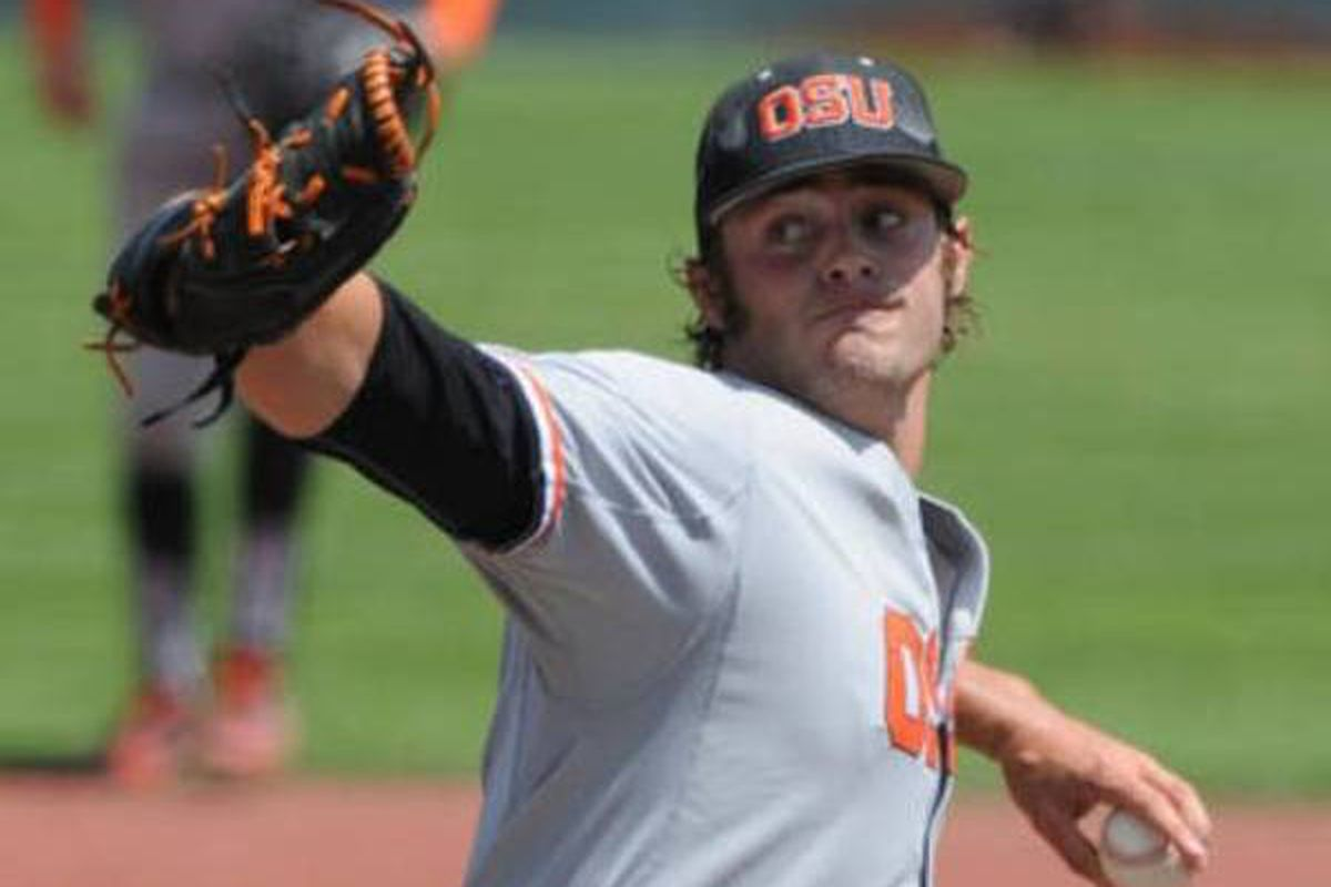 Ben Wetzler carried Oregon St. to another win Sunday, keeping the Beavers' season alive with a complete game 4 hitter.