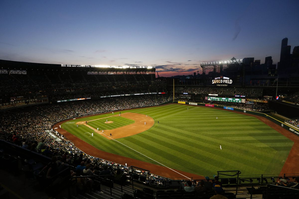 We all get to watch our favorite baseball team play here.