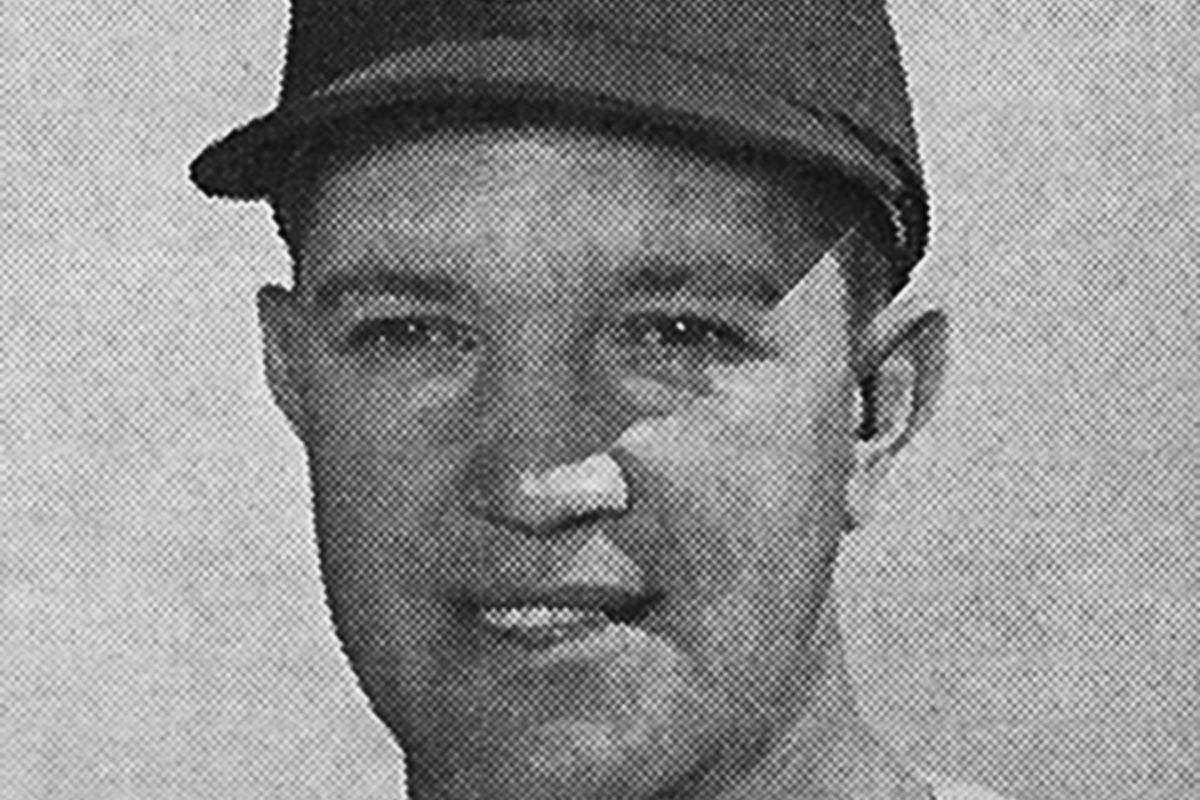 Joe Macko as depicted in the Cubs' 1964 media guide