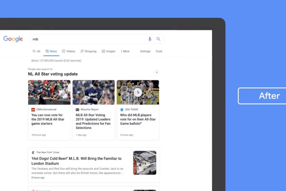 Google is redesigning its News tab with more emphasis on