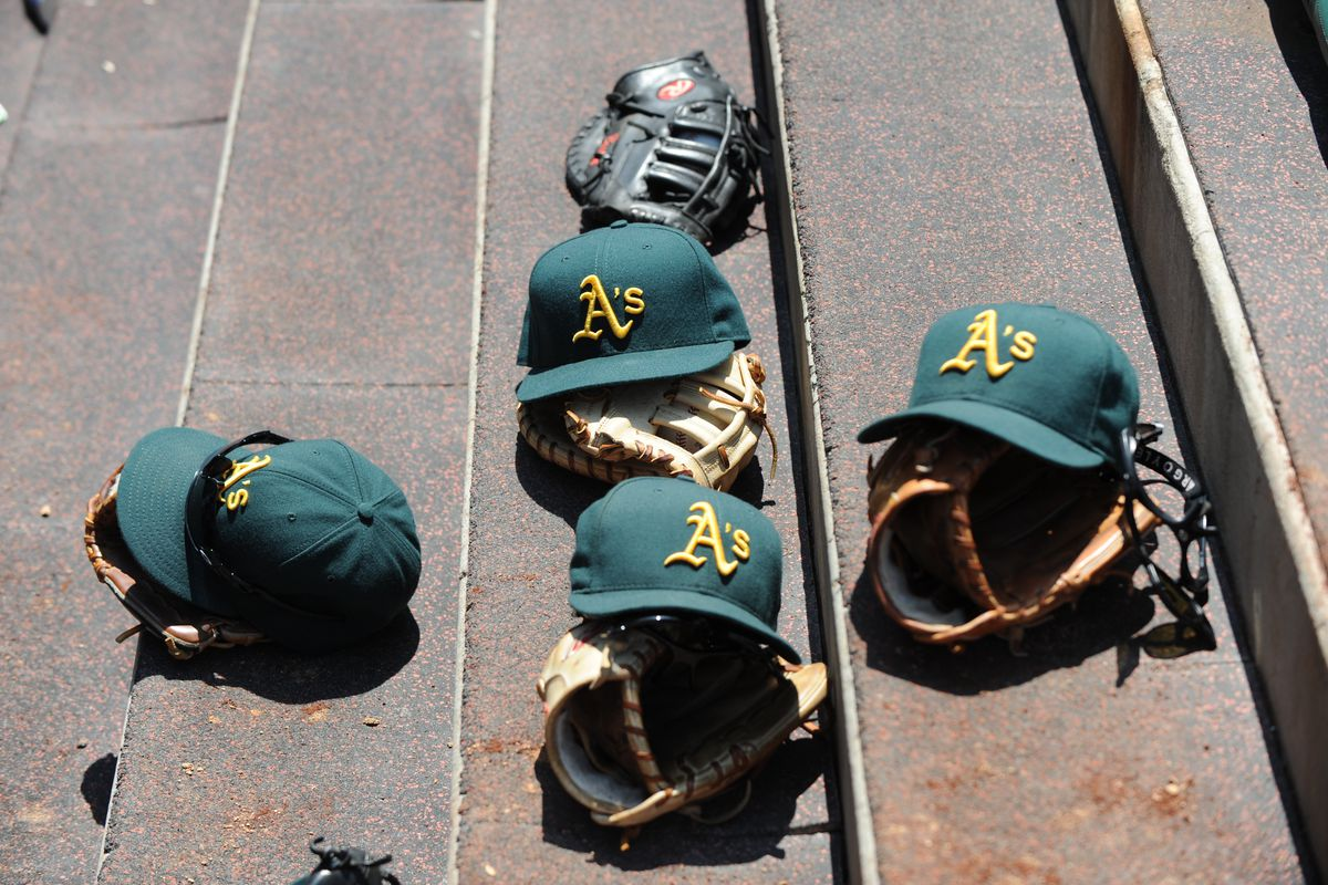 Which of these gloves will Ryon Healy wear if he makes MLB?