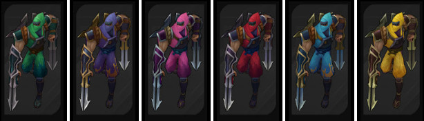 New Chromas Are Coming To League And You Ll Be Able To Buy Them