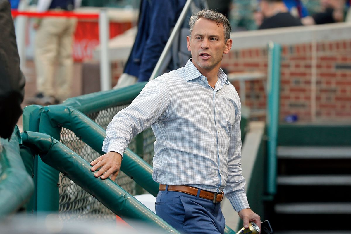 Cubs team president Jed Hoyer has watched his team's fortunes completely change in just about two weeks.