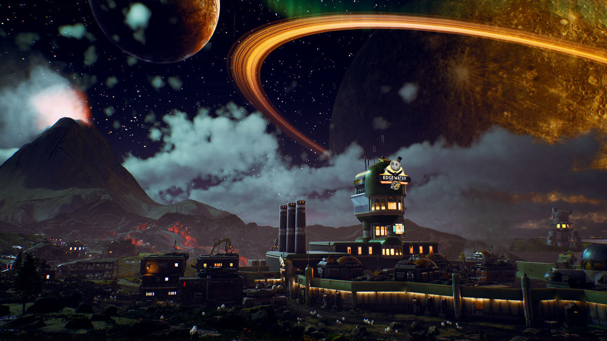 The Outer Worlds' dystopian future is far off, but it's not ...