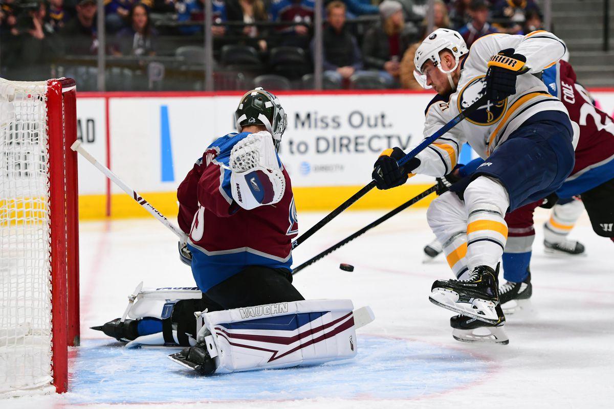 NHL: Buffalo Sabres at Colorado Avalanche
