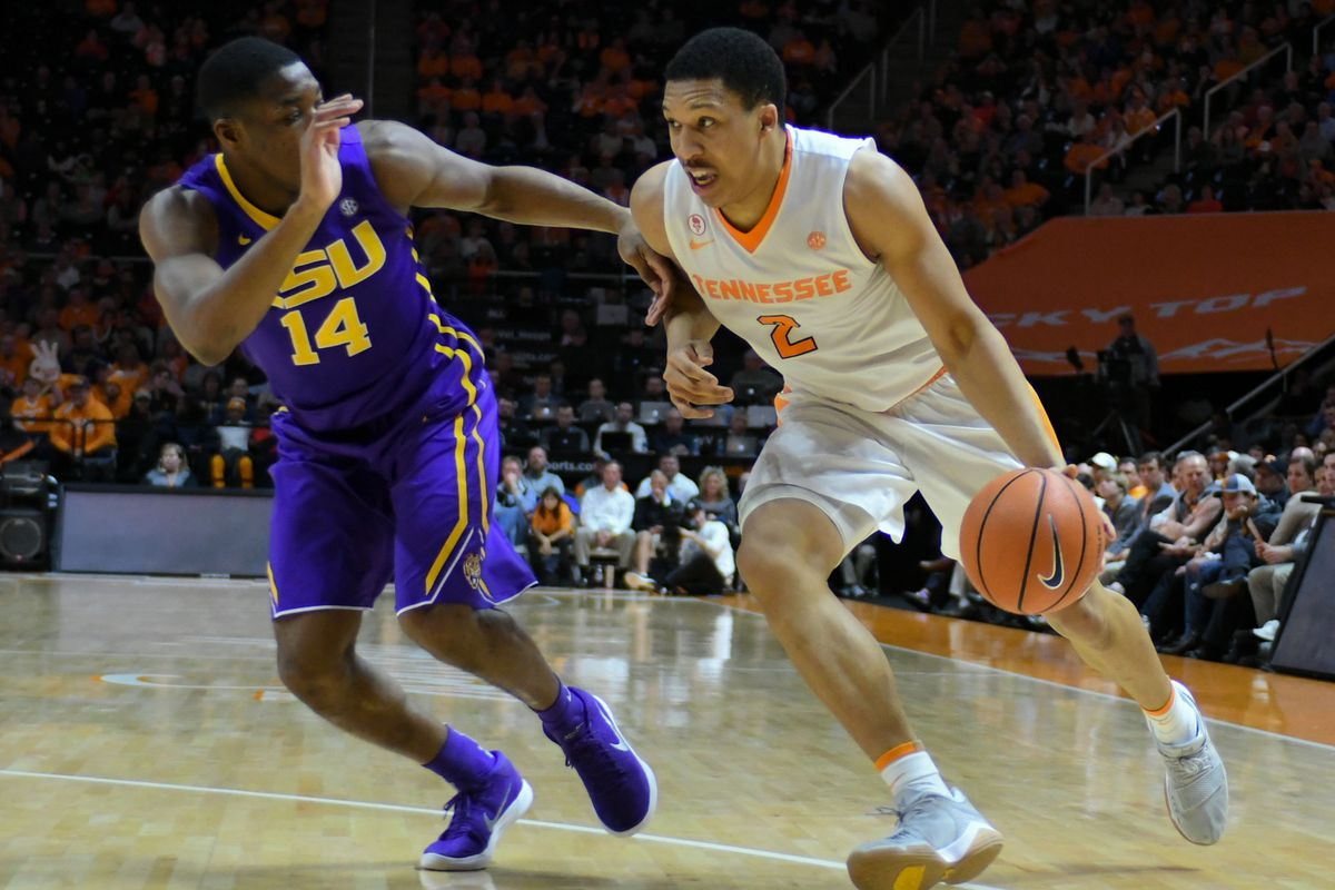 NCAA Basketball: Louisiana State at Tennessee