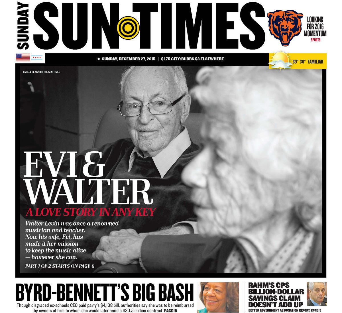 """""""Evi & Walter: A love story in any key."""""""