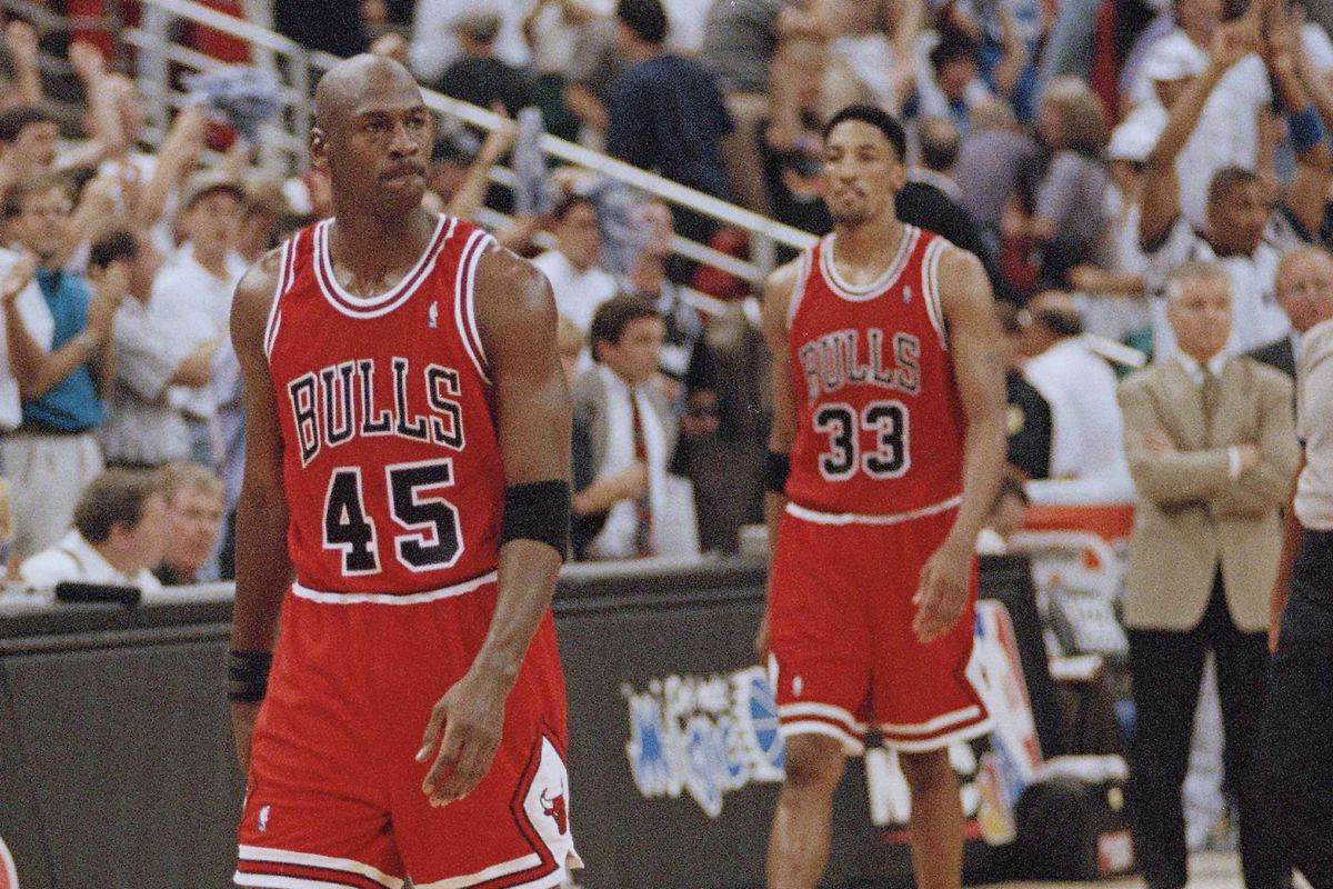 """Scottie Pippen says he's talked with Michael  Jordan since """"The Last Dance"""" documentary aired in the spring and downplayed any rift between the retired Bulls stars."""