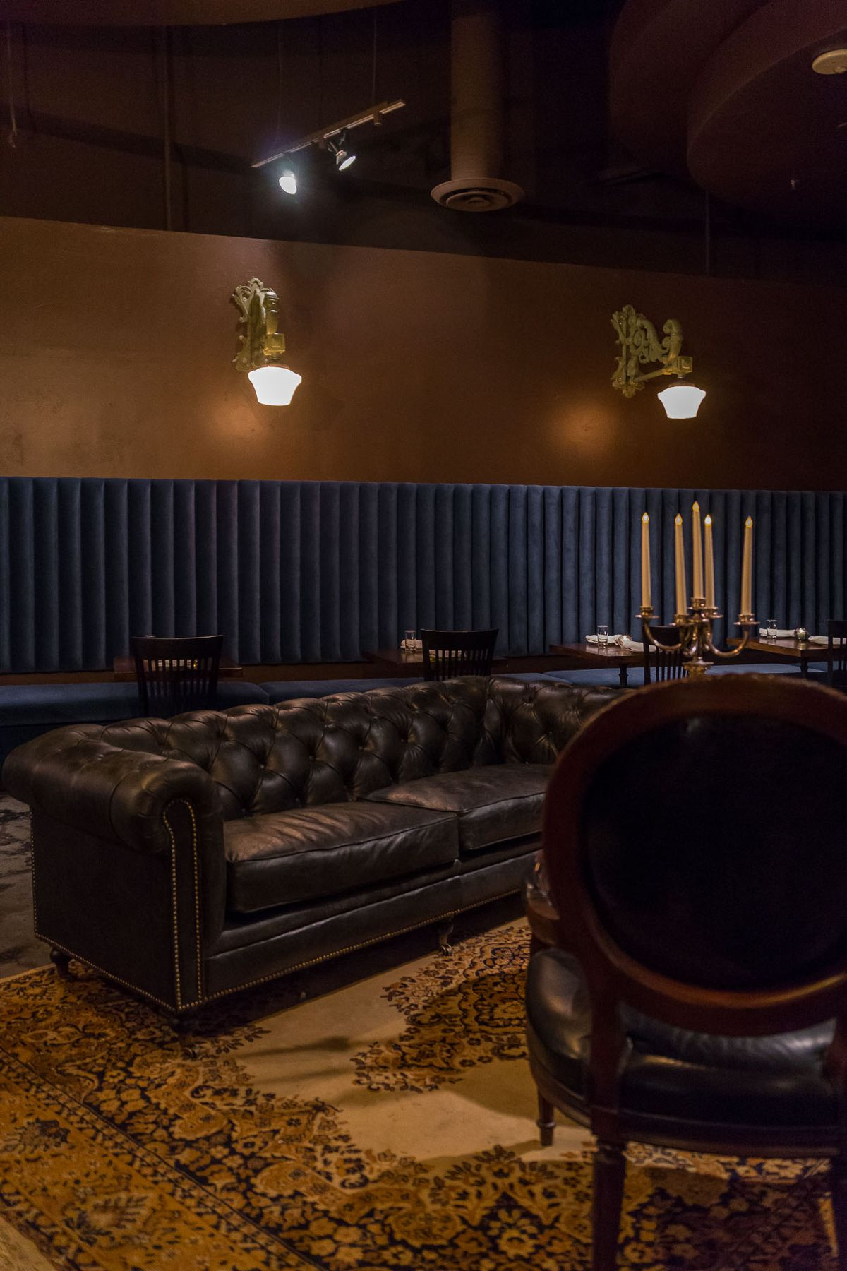 The lounge at Old Soul