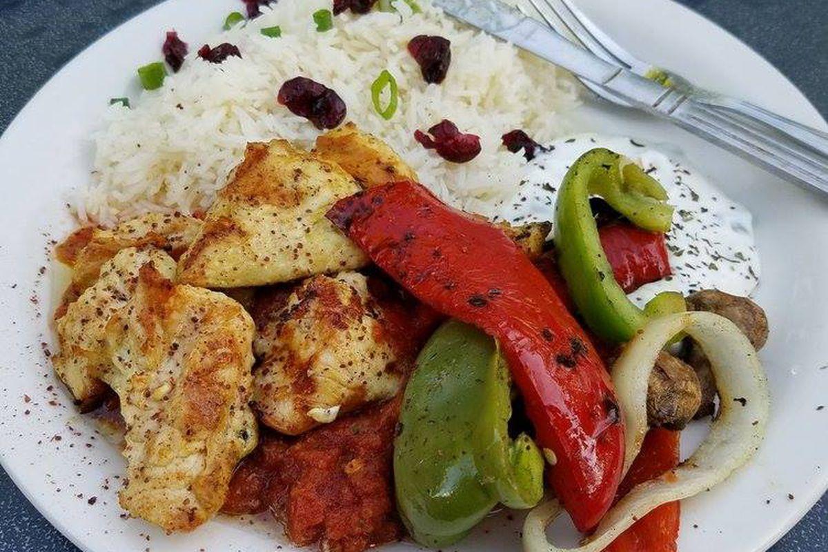 A dish at Phara's