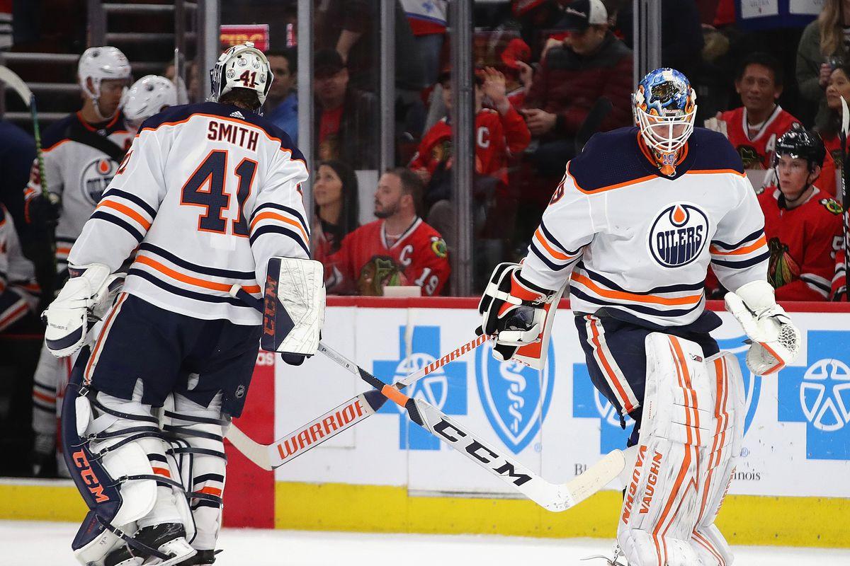 Edmonton Oilers v Chicago Blackhawks
