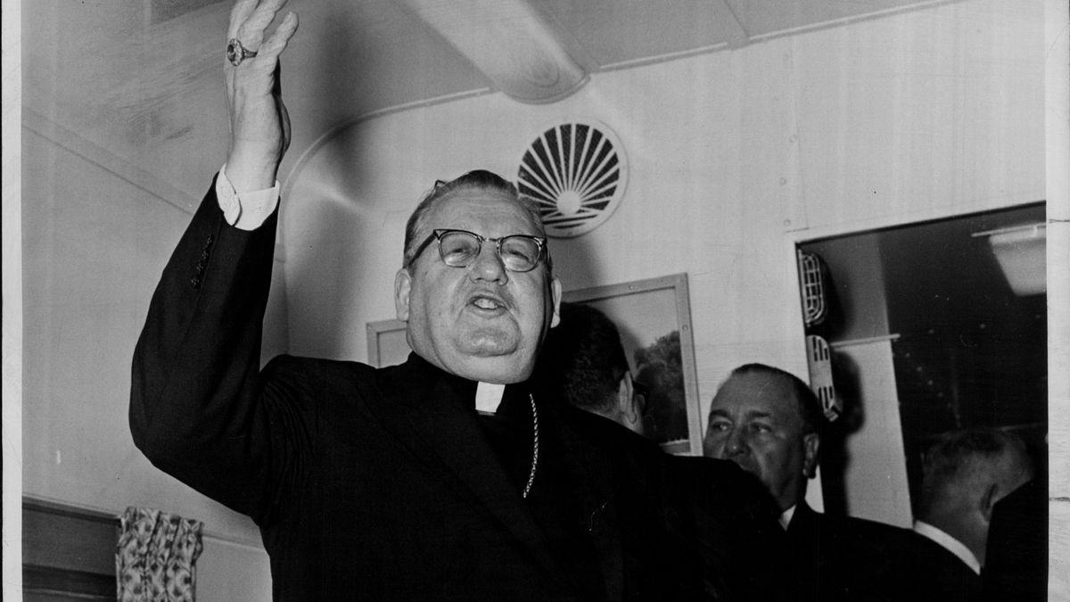The late Cardinal John Cody.