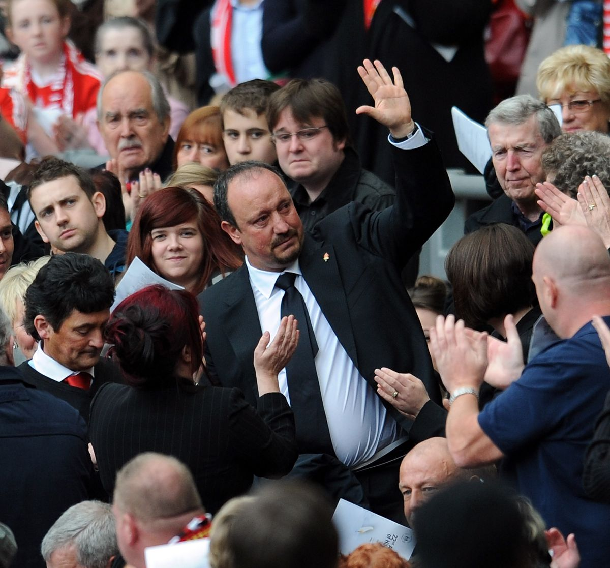 Liverpool Supporters Attend 22nd Hillsborough Memorial Service At Anfield