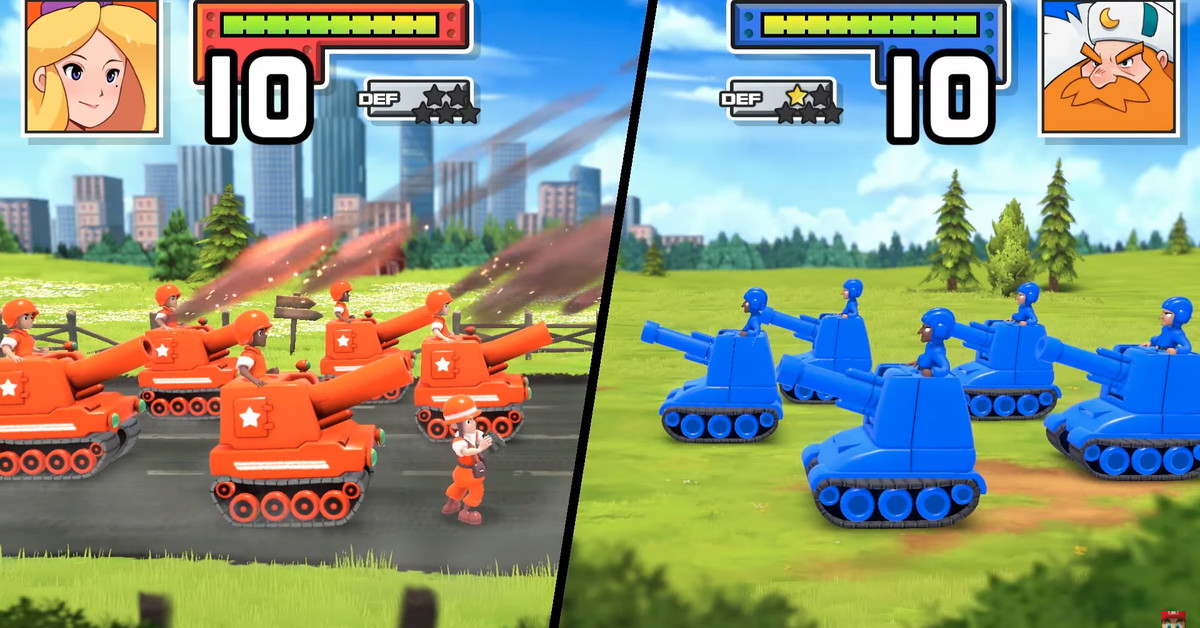 Nintendo is remastering the first two Advance Wars games for the Switch