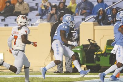 NCAA Football: Mercer at North Carolina