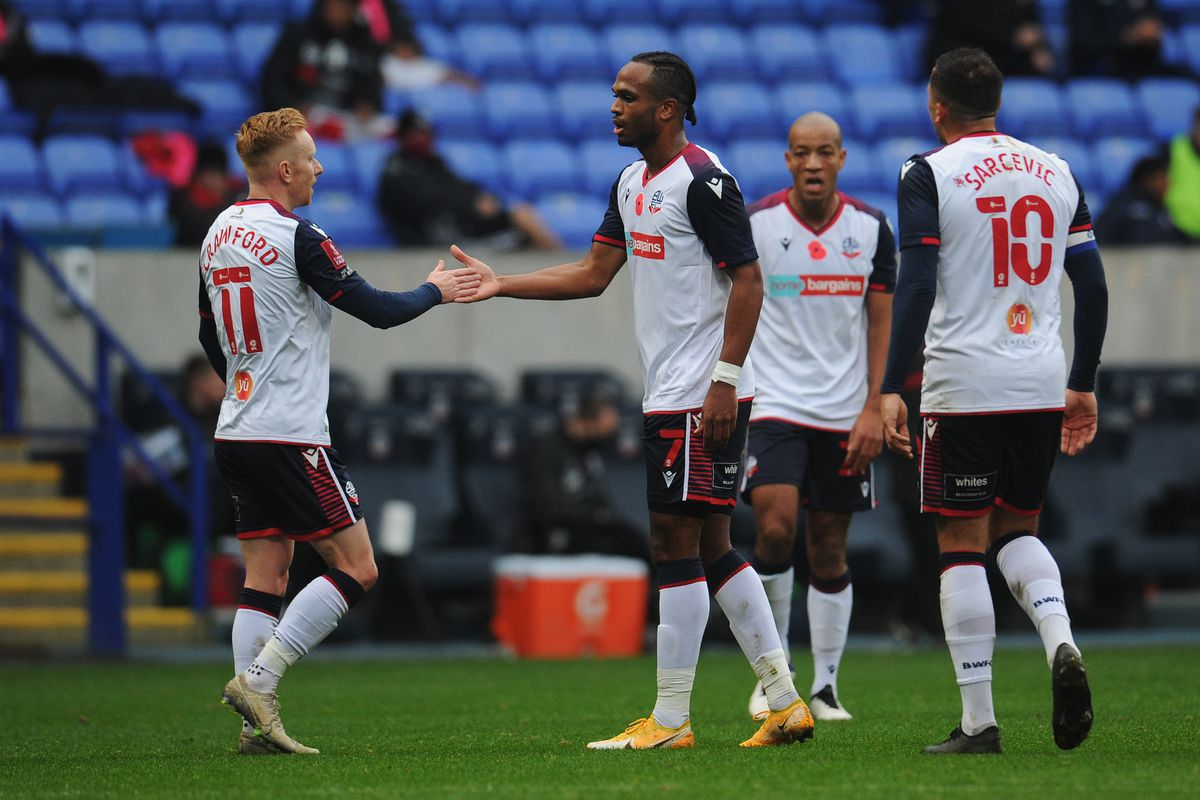 Bolton Wanderers v Crewe Alexandra - FA Cup First Round