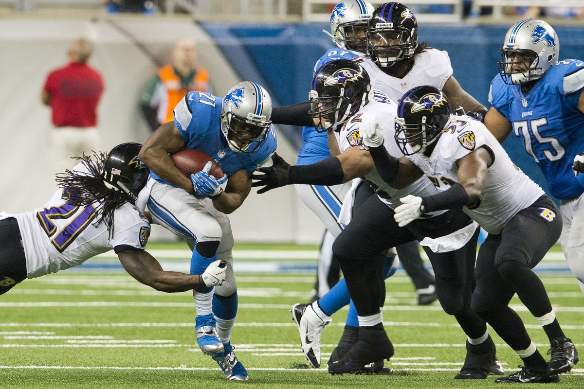 Baltimore Ravens v Detroit Lions