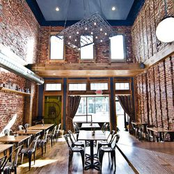 Sure, Boundary Road is a clear newcomer, but it's easily one of the prettiest restaurants on the revitalizing H Street NE strip. It's also one of the best renditions of today's trend of taking exposed brick, reclaimed wood and other vintage items — like t