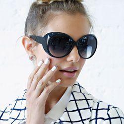 Oversize shades.
