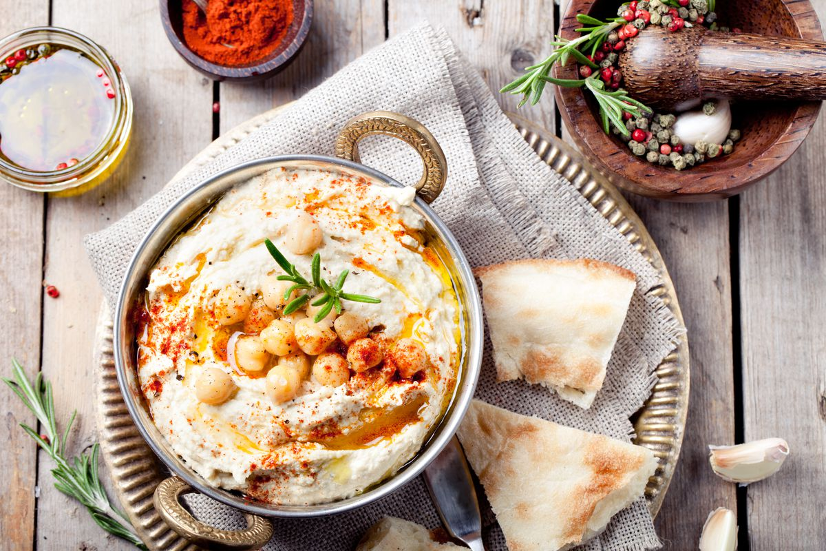 Get ready for mezze, or Middle Eastern appetizers.