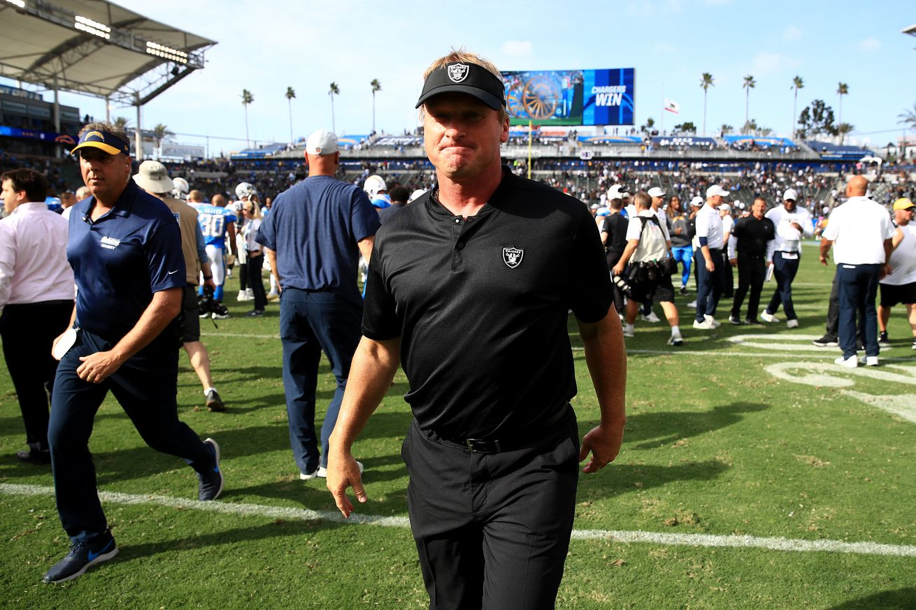 Silver Mining 11/14: Jon Gruden sending bad message with recent moves